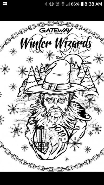 LOO CREW WINTER WIZARD 2 DISC CHALLENGE logo