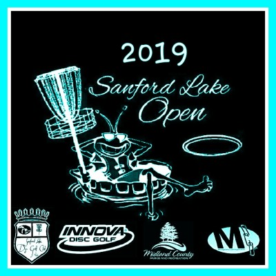 2019 Sanford Lake Open logo