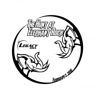 The Hunt at Elephant Rock 2019 presented by Legacy Discs logo