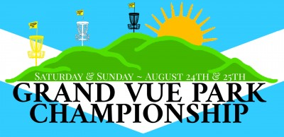 Grand Vue Park Championship Driven By Innova Champion Discs logo