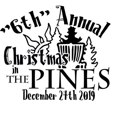 "The ""6th"" Annual Christmas in The Pines logo"