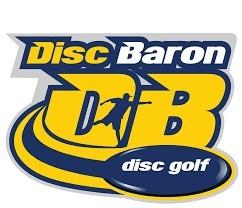 2019 Disc Baron Series: Discraft presents the AJ Open logo