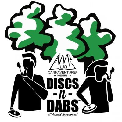 Discs-n-Dabs™ 2019 logo