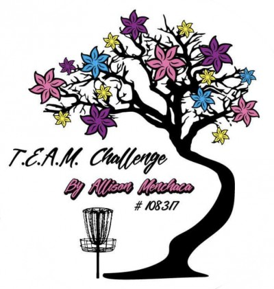T.E.A.M Challenge doubles event featuring Juniors logo