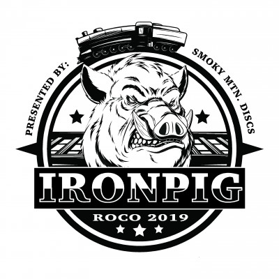 The Iron Pig - Presented by Smoky Mountain Discs logo