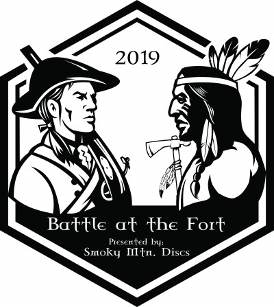 The Battle at the Fort - Presented by Smoky Mountain Discs logo