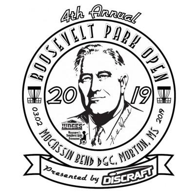 2019 Roosevelt Park Open presented by Discraft logo