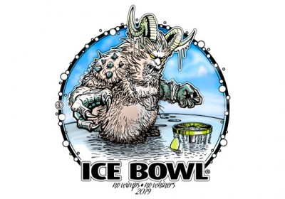Legacy Care Givers Ice Bowl  / No Wimps No Whiners logo