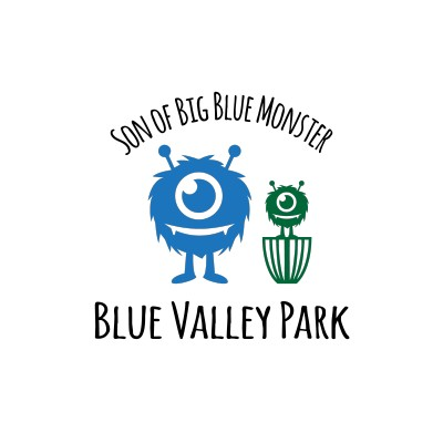 SON of Big Blue Monster presented by Millennium Golf Discs logo