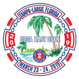 DDGA East Open 2019 logo