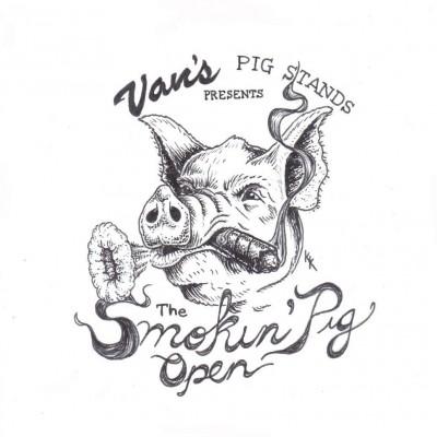 Van's Pig Stands Presents The Smokin' Pig Open logo