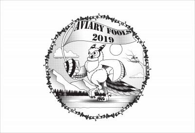 Aviary Fools 2019 Sponsored by Dynamic Discs logo