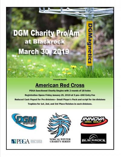 DGM Charity Pro/Am at Blackrock logo