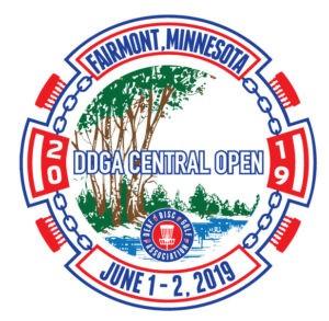 DDGA Central Open 2019 logo