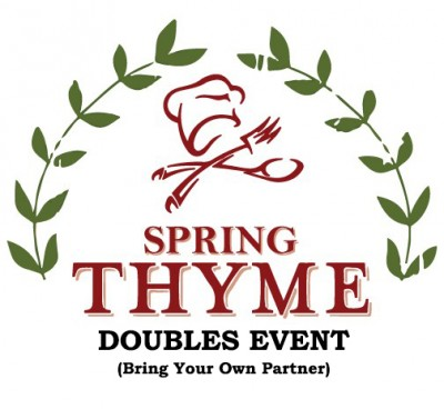Spring Thyme Open Doubles Event logo