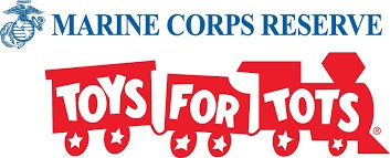 6th Annual Toys for Tots Tournament logo
