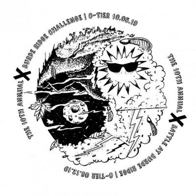 Burde Ridge Challenge X logo