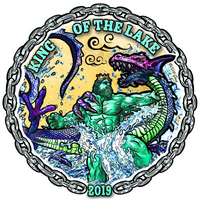 """King of the Lake"" presented by DGA logo"