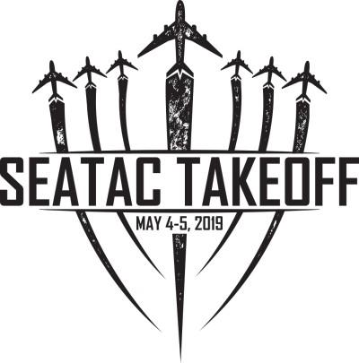 SeaTac Takeoff FUNdraiser 2 logo