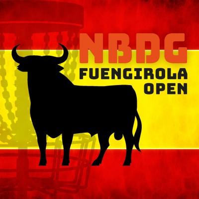 NBDG Fuengirola Open 2019 sponsored by Dynamic Discs logo
