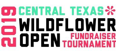 2019 Central Texas Wildflower Open - Fundraiser Tournament logo