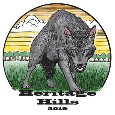 2019 Heritage Hills 1 Rounder logo