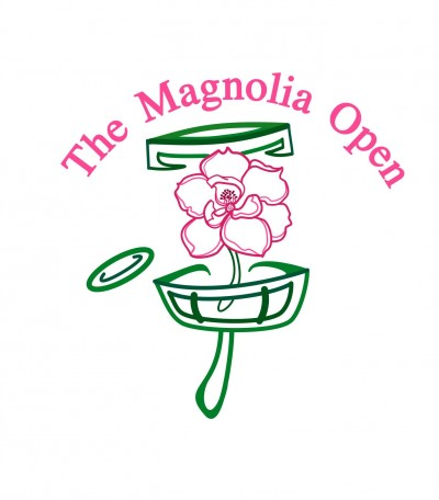 The Magnolia Open driven by Innova - A Throw Pink Event logo