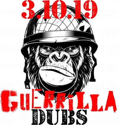 Guerrilla Dubs at Clark's Run Disc Golf Course logo