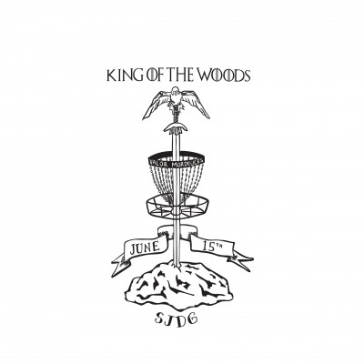 King of the Woods - Driven by Innova - Sponsored by Adidas Outdoor logo