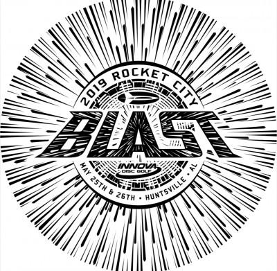 2019 Rocket City Blast logo