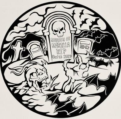 Mayhem at Marilla logo