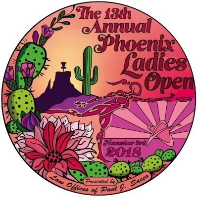14th Annual Phoenix Ladies Open logo