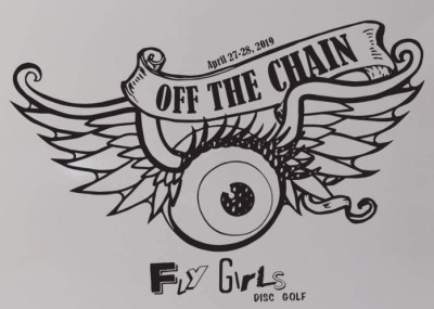 """""""Off the Chain"""" A Fly Girls event for Juniors logo"""