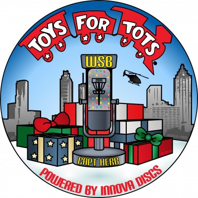3rd Annual Toys for Tots Tourney in Memory of Captain Herb Presented by WSB Radio and Innova Discs logo