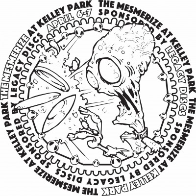 The Mesmerize at Presented by Legacy Discs logo
