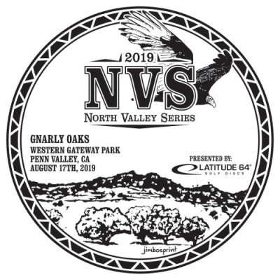 NVS: Gnarly Oaks presented by Latitude 64 logo