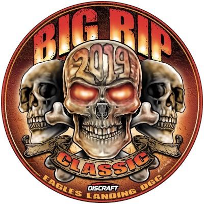 2019 Big Rip Classic Presented by Discraft logo