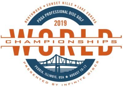 2019 PDGA Professional Disc Golf World Championships logo
