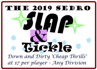 Sedro Slap & Tickle 2019 logo