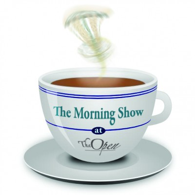 The MORNING SHOW at The Open logo