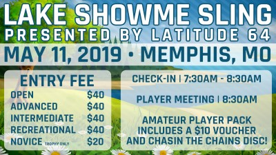 Lake Showme Sling presented by Latitude 64 logo