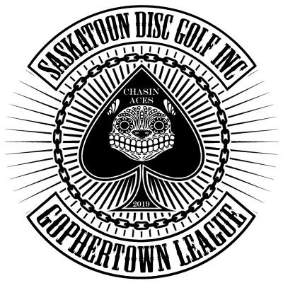 Gophertown Disc Golf League 2020 logo