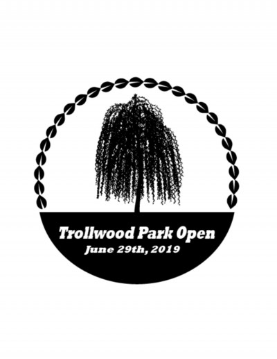 Trollwood Park Open Presented by Rock 30 Games logo