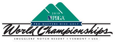 2019 PDGA Professional Master Disc Golf World Championships logo