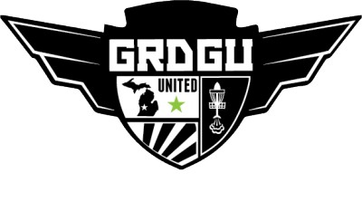 Grand Rapids Disc Golfers United Club Championship logo