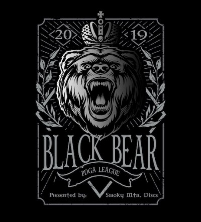 Black Bear PDGA League (week 6) logo
