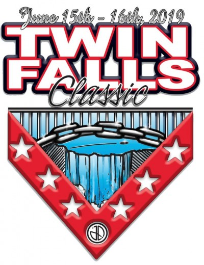 The Twin Falls ClasSIC sponsored by Dynamic Discs & Latitude 64 logo
