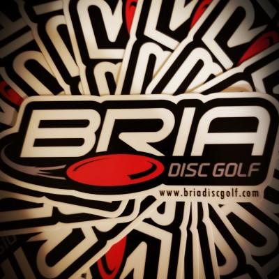 The Bria Disc Golf Open presented by Chris Hansen Construction logo