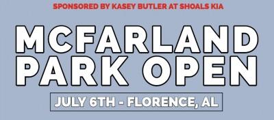 Kasey Butler at Shoals Kia Presents: McFarland Park Open Sponsored by Dynamic Discs. logo