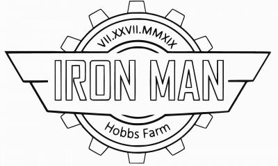 Iron Man at Hobbs Farm, Powered by Prodigy logo